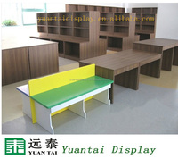 High quality wood display stand for book store interior design