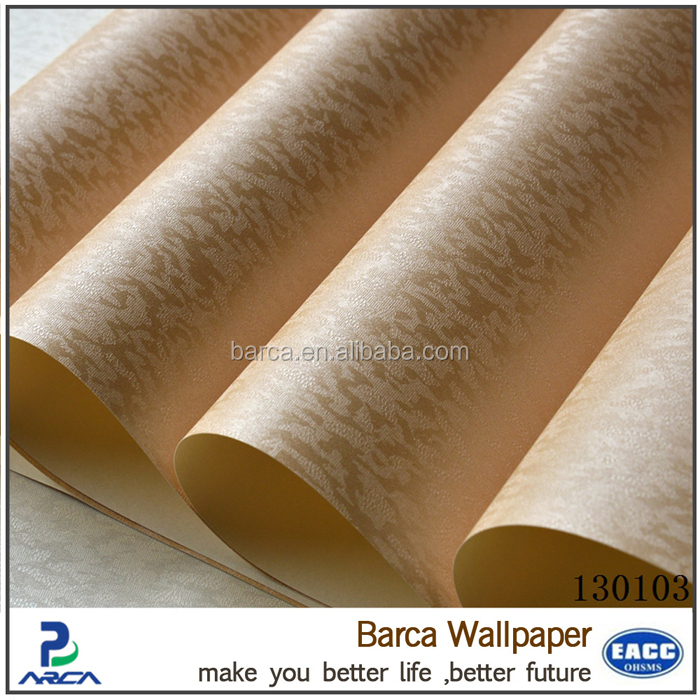 korean vinyl wallpaper pvc waterproof wallpaper from manufacturer