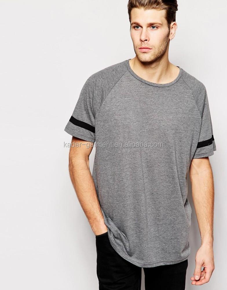 Men 39 s half sleeve t shirt custom long line men t shirt new for Half sleeve t shirts for men