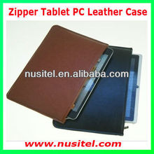 "Universal zipper tablet pc PU leather case for 7"" 8"" 9.7"" 10.1"" tablet pc for Ipad for Samsungs and other branded tablet"