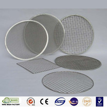 Best sell mat round bbq steel grills ss 316L plated barbecue grill wire mesh