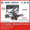 2014 NSSC 55W 9-16V canbus ac hid kit for bimmer X6 X5 , A3 with CE, E-MARK. ROHS