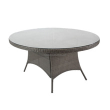 K.D Structure Oval Table Top Garden Dining Tables