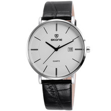 9307 2014 Waterproof Fashionable Leather Watches Men