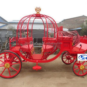 Mini cinderella carriage pony pumpkin horse carriage for sale