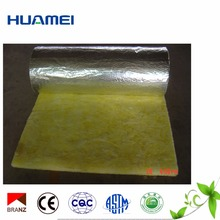 sound system insulation glass wool use for metal roofing with HVAC system construction material