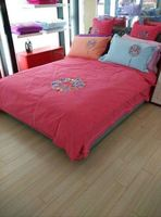 100% cotton jacquard bed quilt cover set