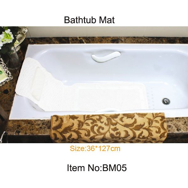 eco anti slip safety PVC foam bathtub pad