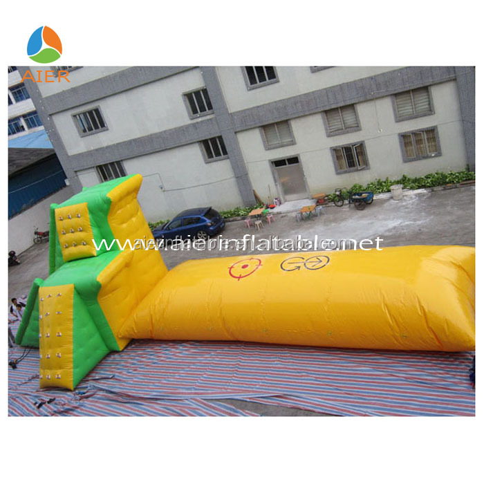 Hot sale inflatable water trampoline with blob inflatable water blob for water park giant inflatable blob for sale