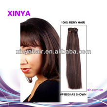 wholesale high quality yaki 10 inch virgin remy brazilian hair weft