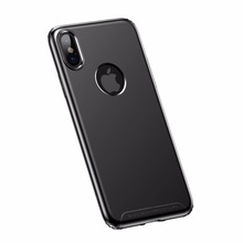 Baseus Soft Simple Case For iPhone X 10 Case Matte Anti-fingerprint TPU Cell Phone Cover for iPhone X 10 5.8 inch