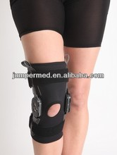Long Adjustable Hinged R.O.M Knee Brace/ Open patella Functional ROM Knee support