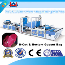 ruian auto pp polythene non woven bag making machine auto non woven bag machine side sealing ultrasonic bag making machines