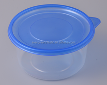 disposable plastic food container 500ml disposable microwave food container pp food container