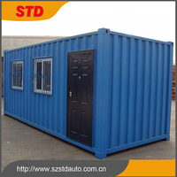 China cheap 20 ft container home/container house price