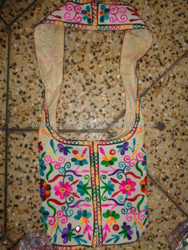 shoulder bags from india with embroidery