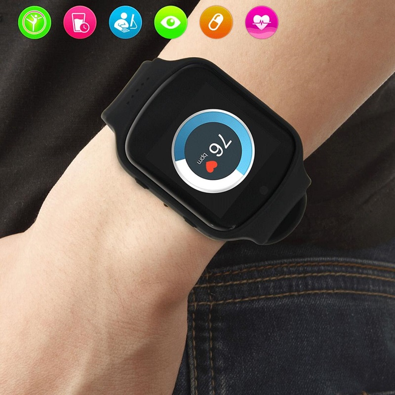 Smart Watch with Heart Rate Monitor OEM 3G <strong>Wifi</strong> 320*320 big Display Android smart watch phone