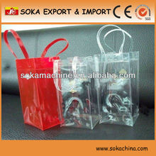 2013 New Style Pvc Clear ice Wine Bag