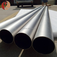 Spinning produced Gr2 Big diameter seamless titanium tube /pipe for Pressure Vessel