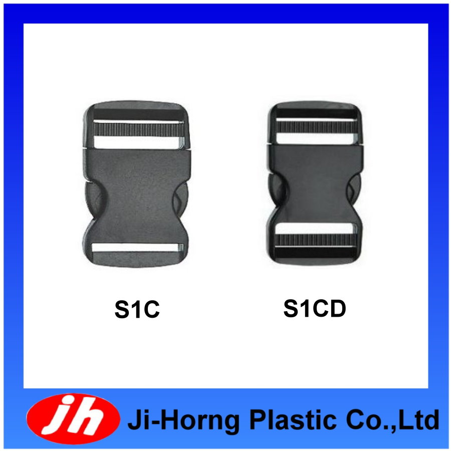 Plastic military high strength POM and NYLON belt buckle