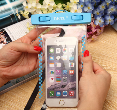For iPhone 7/7plus Universal PVC Underwater pouch Diving case,waterproof bag for mobile phone