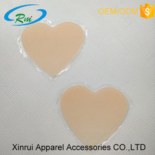Wholesale heart shape silicone anti-wrinkle chest pads for wrinkle decollette area