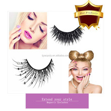Newest Top Quality Waterproof Magnet Lashes False Double Layer Eyelash Extension Synthetic Magnetic Eyelashes