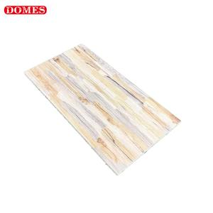 China Hot Sale Rustic Glazed Wood Look Exterior Wall Porcelain Ceramic Tiles