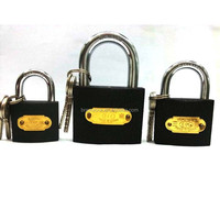 Heavy Duty Gray Iron Pad Lock