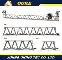 concrete screed machines, Vibratory truss screed concrete smoother