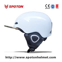 OEM colorful adult sport ski helmet with visor
