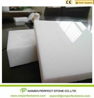 Artificial White Marble Countertop Wall
