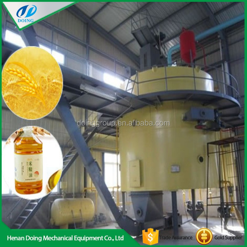 Advanced technology mini rice bran oil processing mill plant