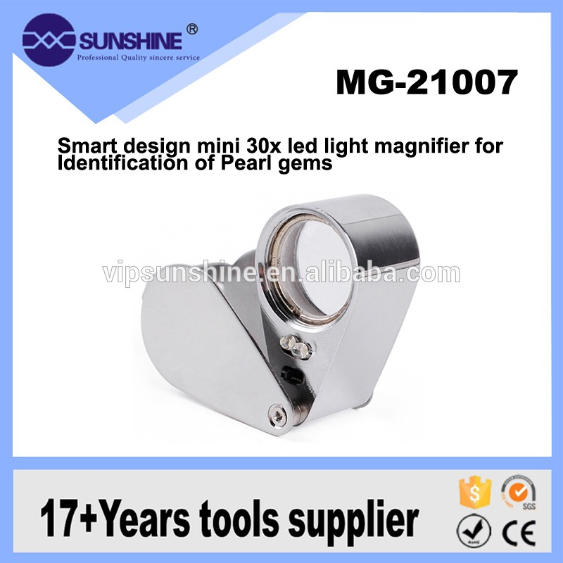 Wholesale Mini Cheap Cute 30x Magnifying Glass For Computer Board Repair