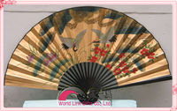 Big size asian antique decorative wall fan