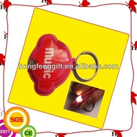 Promotional High Quality Plastic Led Keychain