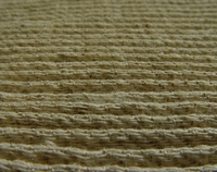 Corrugated linen cotton fabric
