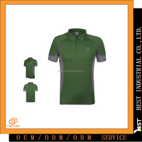 Classic Short-Sleeved Cooldry Breathable Sunscreen 100%Polyester Man Polo T-Shirt