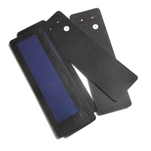 BUHESHUI 0.5W 1.5V Flexible Solar Cells Amorphous Silicon Foldable Very Slim Solar Panel DIY Charger
