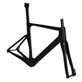 Full toray BB86 thru axle flat mount chinese enduro road race bike frame disc brake carbon
