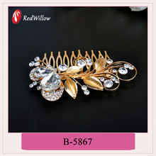 High quality alloy bridal hair comb