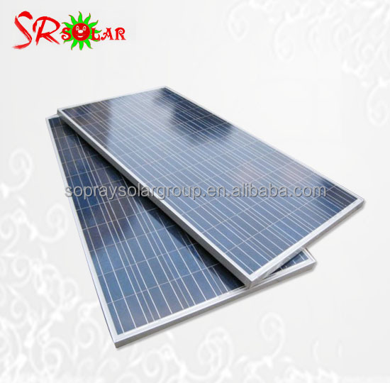 300w Polycrystalline Poly Solar Panel for System