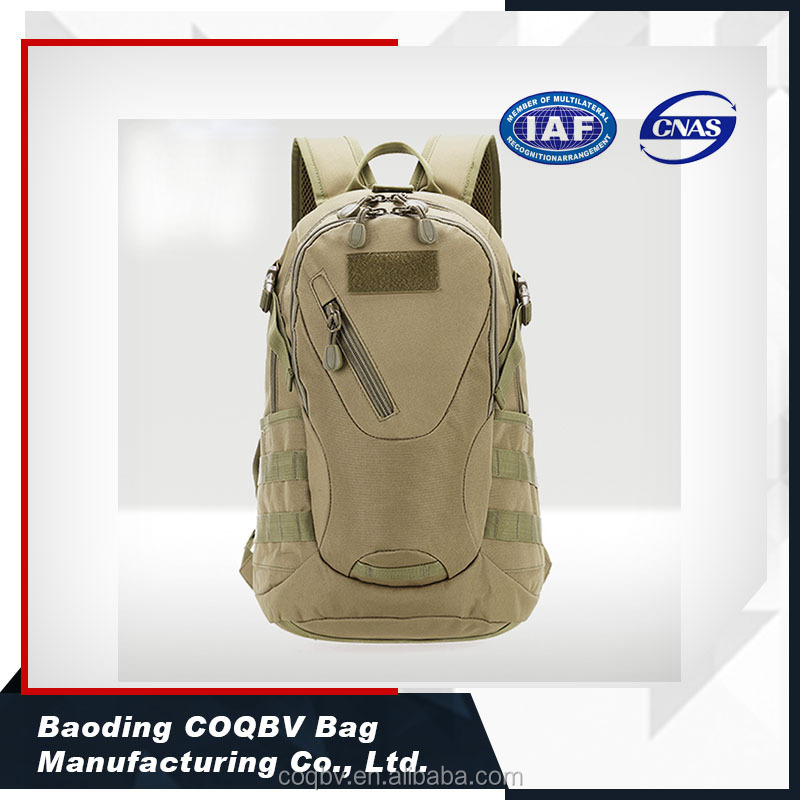wholesale durable canvas camo army backpack