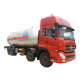 good quality factory price dongfeng tianlong 8x4 type 35000liters  lpg tanker truck with log dispenser