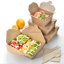 Take Away Frozen Food Box Packaging Manufacture