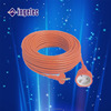 Europe Type 2 Round Pin Electrical Wire Power Extension Cord and Plug