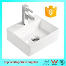 popular design ceramic sinks wall hung basin