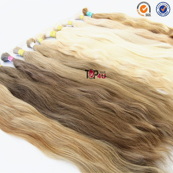 Slavic appearance 100% virgin hair bulk