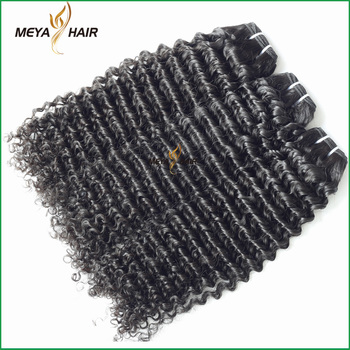 New recommended Brazilian cuticle aligned hair customization curly hair extension