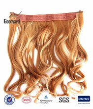 cheap 60 inch two colored ombre synthetic hair